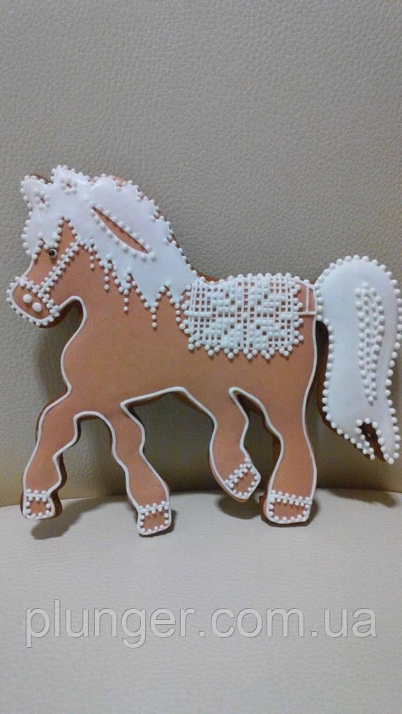 Ирубка для пряника Кінь