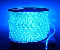 Дюралайт Feron 2124 LED 2WAY 13мм верт. синий (36 led/m) светодиодный