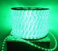 Дюралайт Feron 2122 LED 2WAY 13мм верт. зеленый (36 led/m) светодиодный