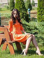 Красивое нежное бежевое платья (в размере XS - L), фото 1