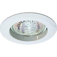 Светильник галогенный Feron 20 DL307/113 белый MR-16 неповоротный(литье)