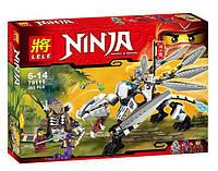 """Конструктор BELA NINJA Динозавр """"Титановый дракон"""", аналог лего 70748 (359 деталей)"""