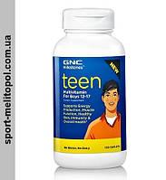 GNC Teen Multivitamin for boys 12-17 120 caplets