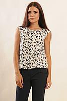Недорогоая женская летняя блуза без рукавов