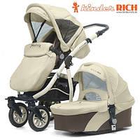 Универсальная коляска 2 в 1 Kinder Rich Matrix Beige