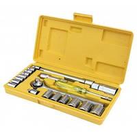 Набор ключей и насадок торцевых 20 предметов в кейсе Master Tool (Mastertool) 78-0257