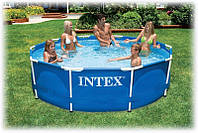 Каркасный бассейн Intex, для каждого дома