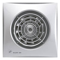Вытяжной вентилятор Soler&Palau SILENT-200 CHZ SILVER (230V 50), фото 1
