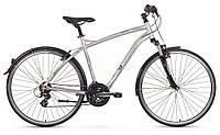 Велосипед ROMET MISTRAL 28 серебр