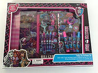 Набор для рисования 30+ предметов Монстр Хай Monster High Freaky Fab Stationary Set Оригинал из США