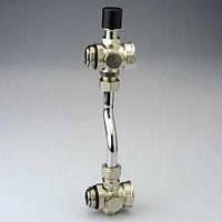 Байпас проходной с перепускным клапаном и термометром для коллекторных блоков VTc.594;VTc.596;VTc.588;VTc.589