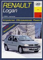 Renault Logan бензин Руководство по ремонту и эксплуатации седана