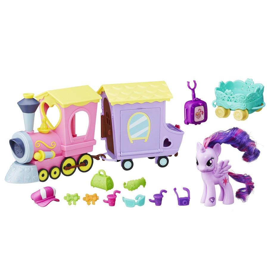 My Little Pony Поїзд Дружба з принцесою Твайлайт Спаркл, серія Explore Equestria ( Поезд пони )