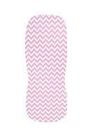 Летний вкладыш в детскую коляску Simple Pink LC