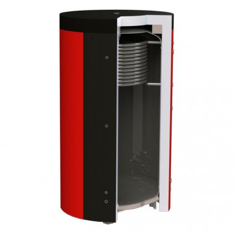 Буферна ємність для систем опалення (теплоакумулятор) Куйдич ЕА-10 2000 з верхнім теплообмінником