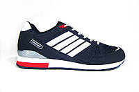 Чоловічі кросівки Athletic, нубук/текстиль, сині, фото 1