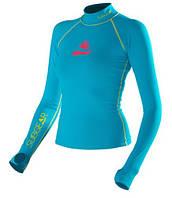 Женская лайкровая футболка для плавания с уф защитой SubGear Paraiso