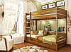Кровать двухъярусная деревянная Дуэт 80 1500х860х1980мм   Эстелла, фото 5