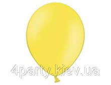 """Воздушный шар пастель желтый 12"""" 1102-0300"""