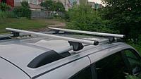 Багажник 2-х реечный аэродинамический алюминиевый AMOS Польша