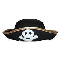 """Шляпа """"Пират"""" с черепом (детская) 170216-129"""