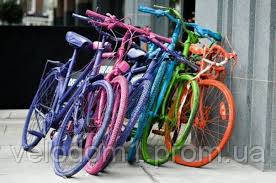 Подготовка вело для покраски