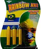 Карандаши для грима (желтый, черный, зеленый) 270216-082