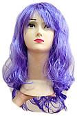 Парик длинный фиолетовый 220216-190