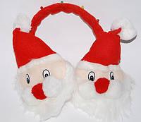 Наушники Дед мороз теплые 040316-018