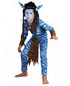 Костюм Аватар мальчик (детский), размер 110-120 150216-167