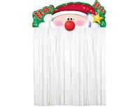 Украшение на дверь Санта Клаус 1407-0038