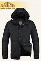 Куртка демисезонная мужская MOC - 43B черно-белая