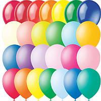 """Воздушный шарик пастель с гелием 12"""" 240216-520"""