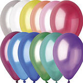 "Воздушный шарик металлик с гелием 12"" 240216-521"
