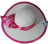 Шляпа Летняя с бантом 170216-188