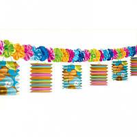 Гирлянда фонарики разноцветные 1505-0293