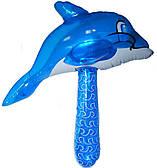 Надувная игрушка молоток-Дельфин 1503-0302
