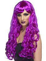 Парик мега-длинный 80 см (фиолетовый) 220216-163
