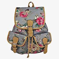 Молодежный рюкзак с принтом Розы