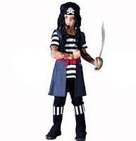 Костюм Пирата детский с тату 130-140 150216-160