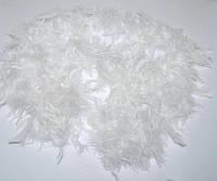 Боа перьевое эконом (белое) 270216-131