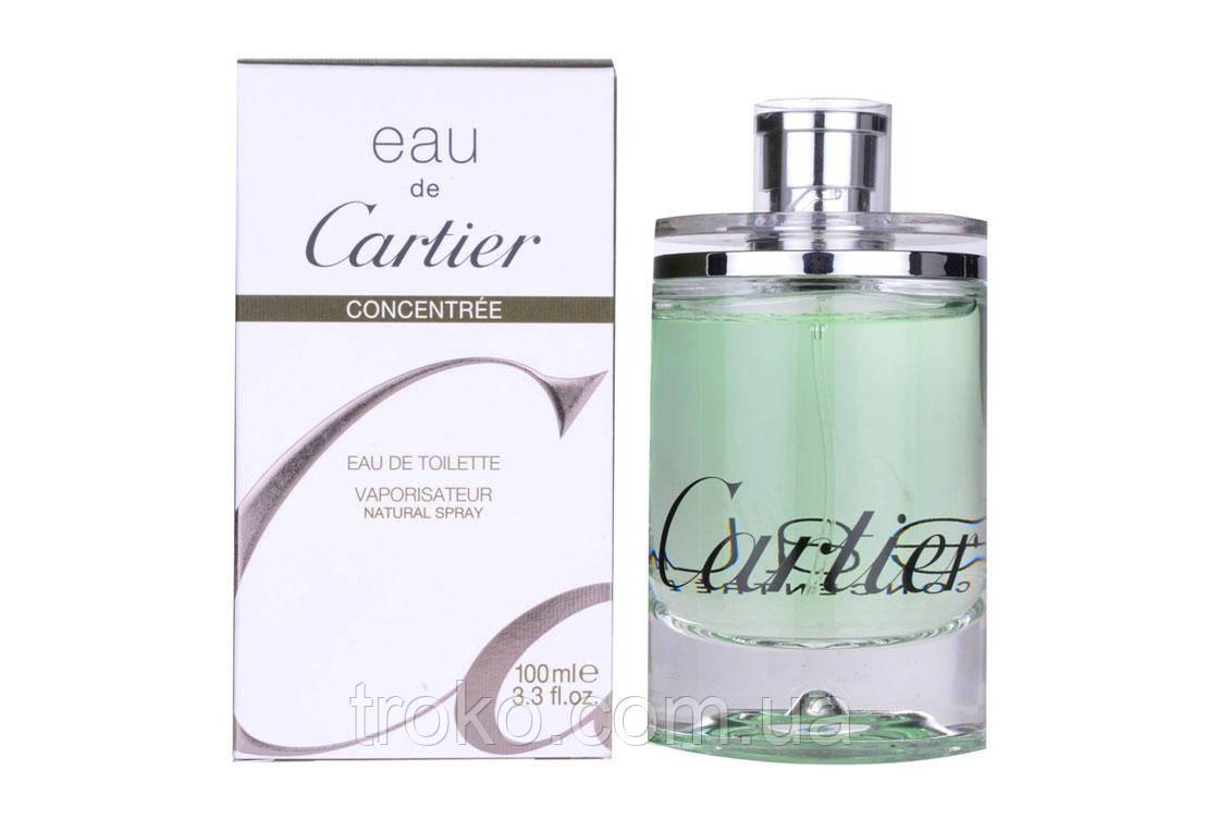Туалетная вода Cartier Eau de Cartier Concentree