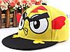 Кепка Snapback Angry Birds желтая