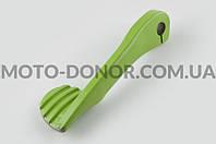 """Ножка кикстартера (стайлинговая)   """"RIDE IT""""   (mod:4, зеленая)"""