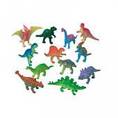 Набор игрушек Динозавры 12 1507-0784