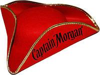 Треуголка Капитан Морган (красная) 020316-079