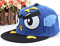 Кепка Snapback Angry Birds синяя