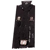 Подтяжки в паетку (черные) 270216-215