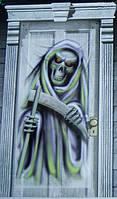 Баннер на дверь смерть 1505-3086