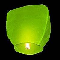 Небесный фонарик Купол (зелёный) 270216-469